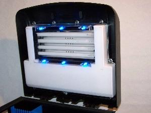 et LED bleu, la classe...!